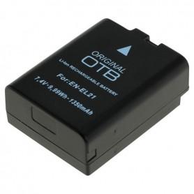 OTB - Accu voor Nikon EN-EL21 1350mAh - Nikon foto-video batterijen - ON2747 www.NedRo.nl