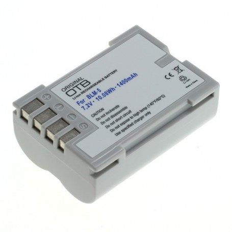 OTB, Battery for Olympus BLM-5 1400mAh, Olympus photo-video batteries, ON2749