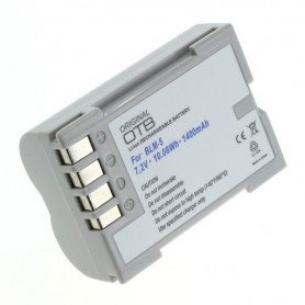 OTB - Accu voor Olympus BLM-5 1400mAh ON2749 - Olympus foto-video batterijen - ON2749 www.NedRo.nl