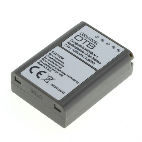 OTB, Battery for Olympus BLN-1 1020mAh, Olympus photo-video batteries, ON2750