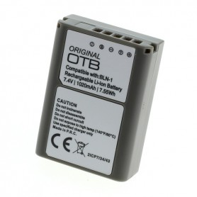 OTB - Accu voor Olympus BLN-1 1020 mAh ON2750 - Olympus foto-video batterijen - ON2750 www.NedRo.nl