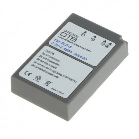 OTB - Battery for Olympus BLS-5 / BLS-50 ON2751 - Olympus photo-video batteries - ON2751-C www.NedRo.us