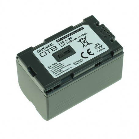 OTB - Battery for Panasonic CGR-D220 1800mAh ON2755 - Panasonic photo-video batteries - ON2755
