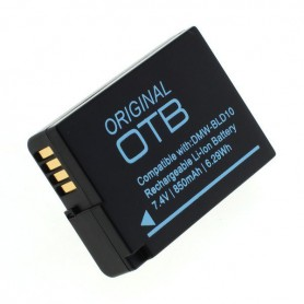 OTB - Battery for Panasonic DMW-BLD10 850mAh ON2763 - Panasonic photo-video batteries - ON2763 www.NedRo.us