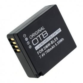 OTB - Battery for Panasonic DMW-BLG10 / DMW-BLE9 - Panasonic photo-video batteries - ON2766-C www.NedRo.us
