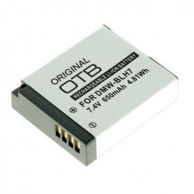 Accu voor Panasonic DMW-BLH7 650mAh