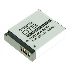Battery for Panasonic DMW-BLH7 650mAh