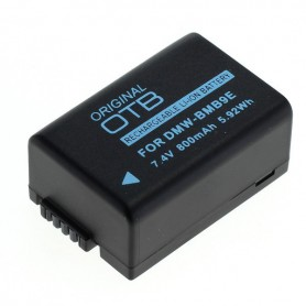 Battery for Panasonic DMW-BMB9E / Leica BP-DC9