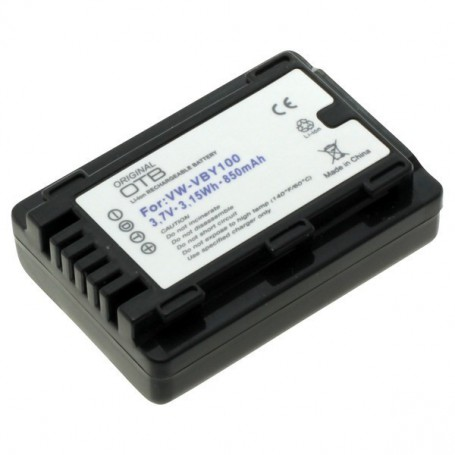 OTB, Battery for Panasonic VW-VBY100 850mAh ON2776, Panasonic photo-video batteries, ON2776