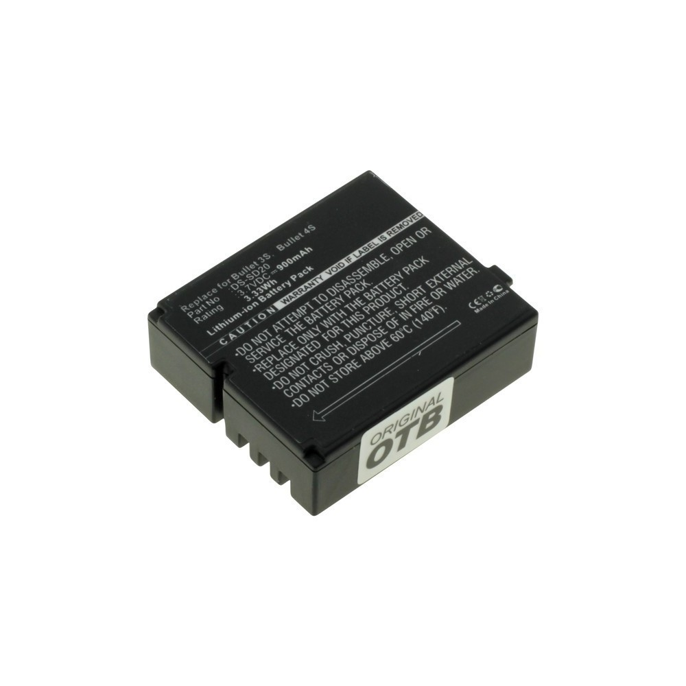 OTB - Accu voor Rollei DS-SD20 900mAh ON2781 - Andere foto-video batterijen - ON2781-C www.NedRo.nl