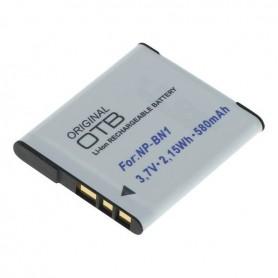 Accu voor Sony NP-BN1 580mAh