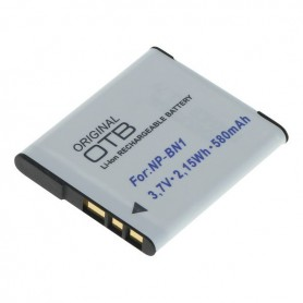 Battery for Sony NP-BN1 580mAh