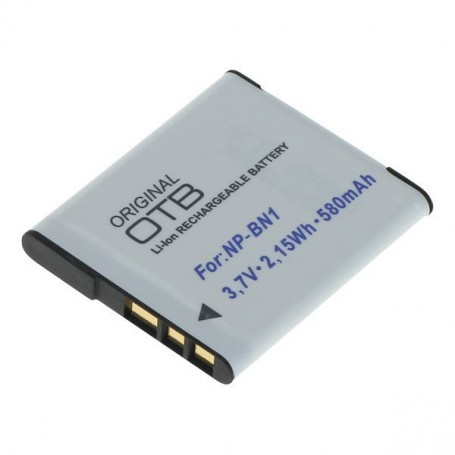 OTB, Battery for Sony NP-BN1 580mAh, Sony photo-video batteries, ON2798