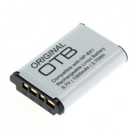 OTB - Accu voor Sony NP-BX1 1000mAh - Sony foto-video batterijen - ON2799-C www.NedRo.nl