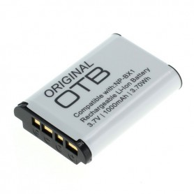 OTB - Battery for Sony NP-BX1 1000mAh ON2799 - Sony photo-video batteries - ON2799 www.NedRo.us