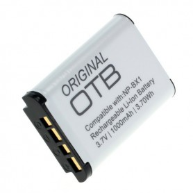 OTB - Battery for Sony NP-BX1 1000mAh - Sony photo-video batteries - ON2799-C www.NedRo.us