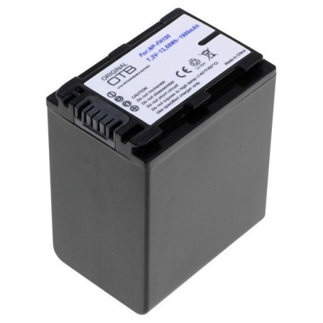 OTB, Battery for Sony NP-FH100 / NP-FP100 1900mAh ON2801, Sony photo-video batteries, ON2801
