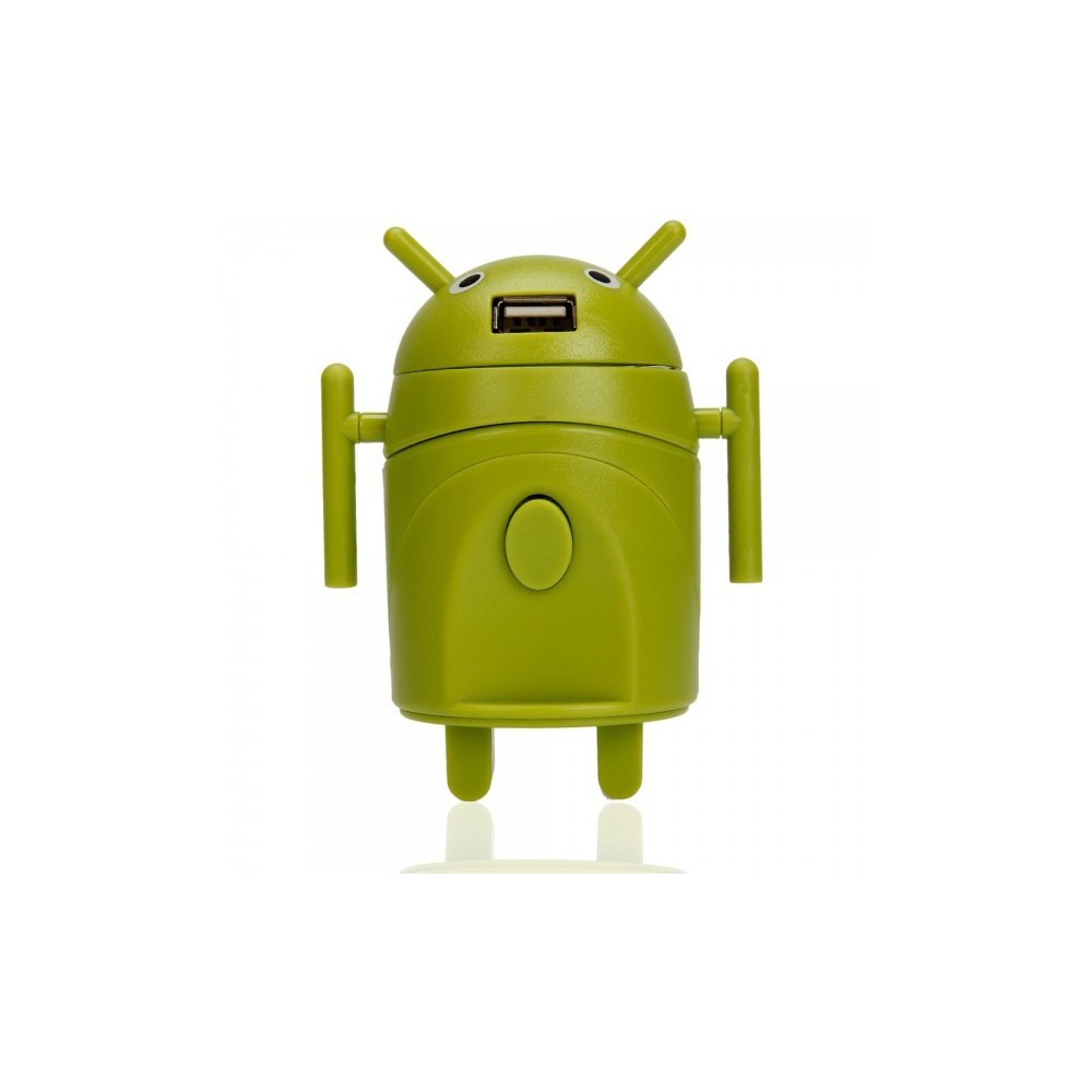 Unbranded - Android Style Multi-Function Travel Power Plug Adaptor Green - Pluggen en Adapters - WW88008169 www.NedRo.nl
