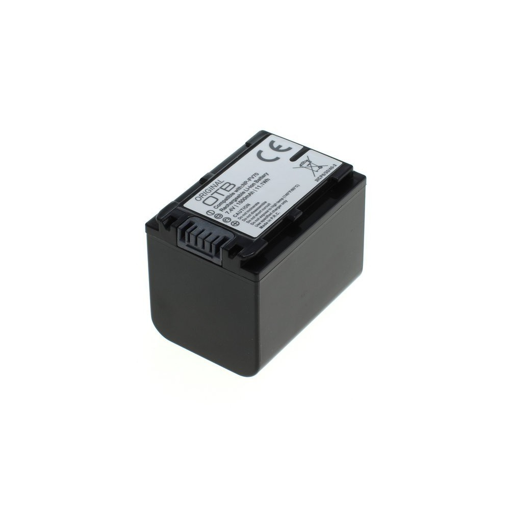 Replacement Battery for Sony NP-FV70 1500mAh