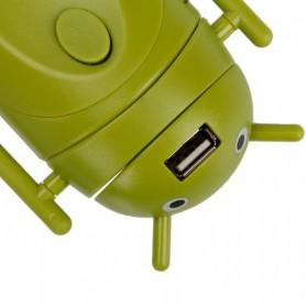 Unbranded, Android-stijl multifunctionele reisstekker-adapter Groen, Pluggen en Adapters, WW88008169, EtronixCenter.com