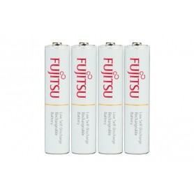 Fujitsu - Fujitsu AAA R3 HR-4UTC 800mAh Rechargeable Batteries - Size AAA - NK028 www.NedRo.us