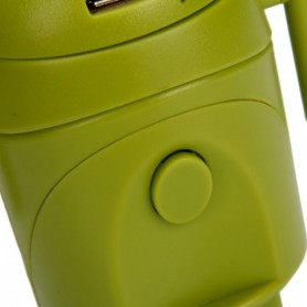 Unbranded - Android Style Multi-Function Travel Power Plug Adaptor Green - Plugs and Adapters - WW88008169 www.NedRo.us