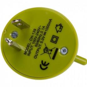 Unbranded - Android-stijl multifunctionele reisstekker-adapter Groen - Pluggen en Adapters - WW88008169 www.NedRo.nl