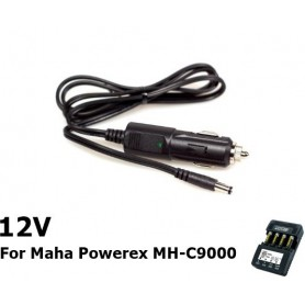POWEREX - Car Charger 12v DC for Maha Powerex MH-C9000 - Battery charger accessories - NK033 www.NedRo.us