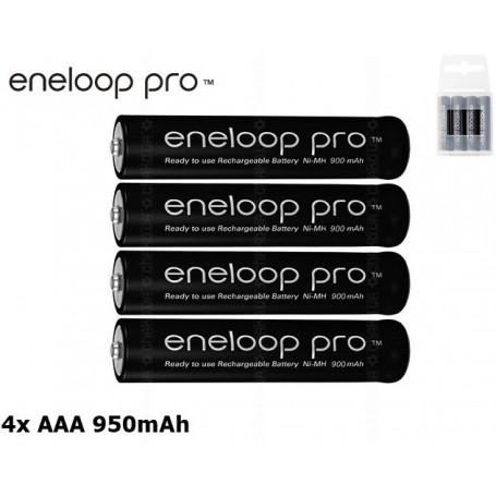 Panasonic - AAA R3 Panasonic Eneloop PRO Rechargeable Battery - Format AAA - NK055 www.NedRo.ro