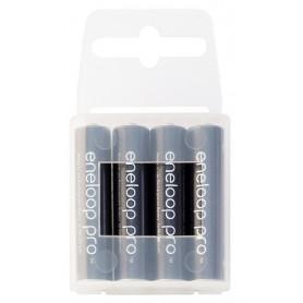 Eneloop - AAA R3 Panasonic Eneloop PRO Rechargeable Battery - Size AAA - NK055 www.NedRo.us