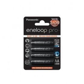 Eneloop - Panasonic eneloop Pro AA R6 2550mAh 1.2V Oplaadbare Batterij - AA formaat - ON1315-10x www.NedRo.nl