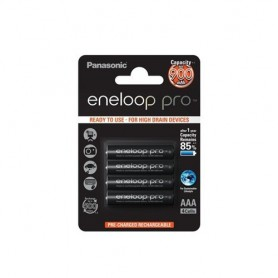 Eneloop - AAA Rechargeable Panasonic eneloop Pro Battery - Size AAA - ON1317 www.NedRo.us