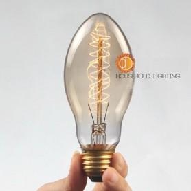Oem - Edison Line Vintage 40W E27 Decoration Light Bulb AL026 - Vintage Antique - AL026