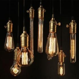 NedRo - Edison Line Vintage 40W E27 Decoratie Lamp AL026 - Vintage Antiek - AL026 www.NedRo.nl