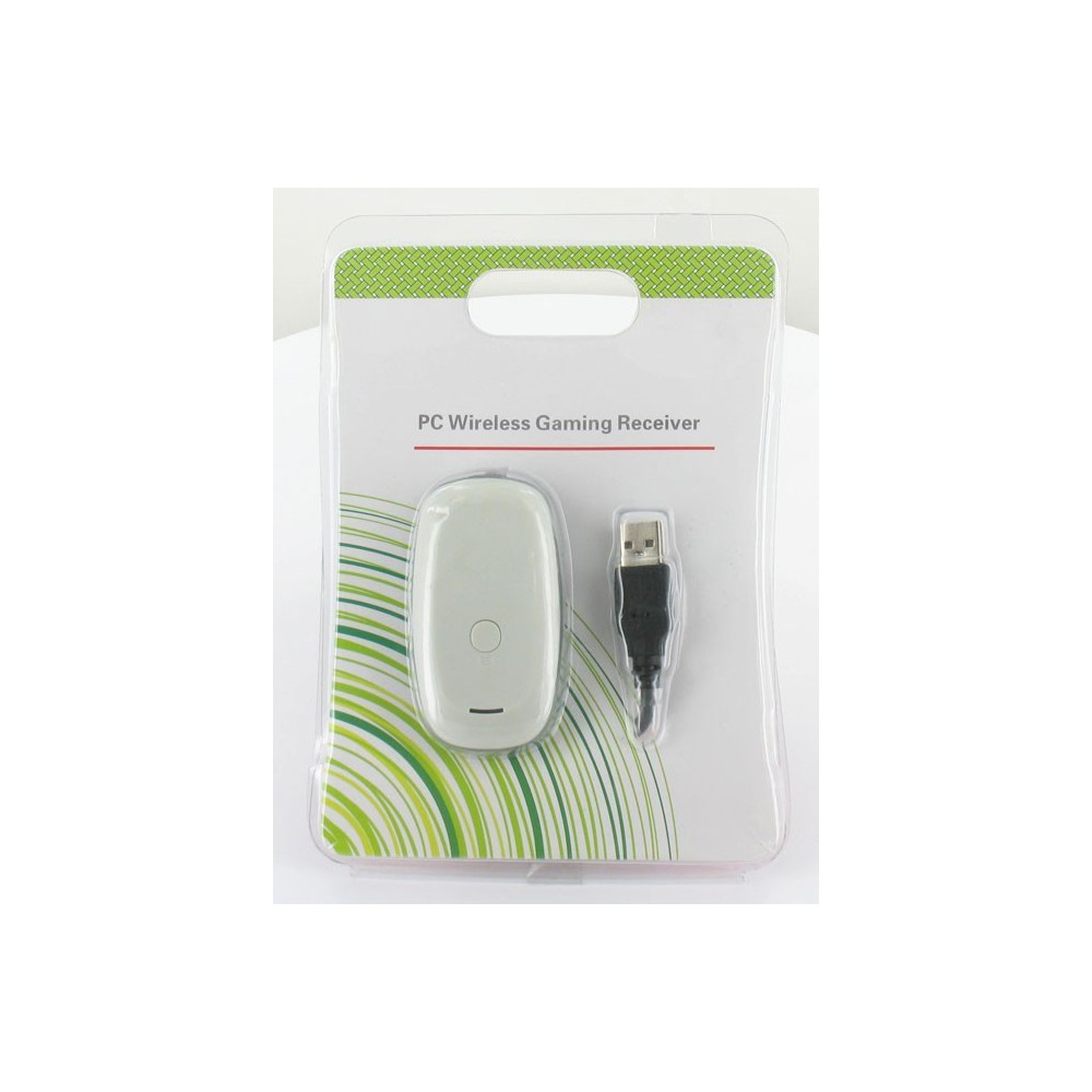 PC Wireless Gaming Receiver voor XBOX360 Controllers Wit YGX567