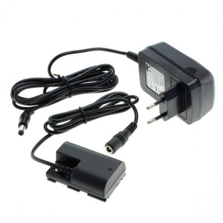 NedRo - OTB power adapter compatible with Canon ACK-E6 - Canon photo-video chargers - ON1299