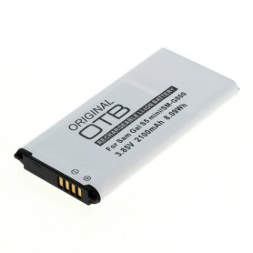 Battery compatible with Samsung Galaxy S5 Mini Li-Ion with integrated NFC antenna