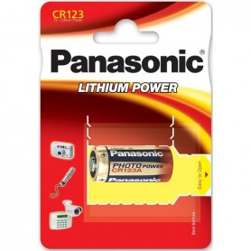 Panasonic - Panasonic PHOTO Power CR123A blister lithium battery - Other formats - NK083-CB