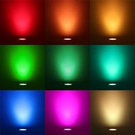 Calex, RGB LED GU10 240V 5W + Remote-Control CA027, GU10 LED, CA027, EtronixCenter.com