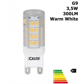 Calex, LED G9 240V 3,5W 300LM 2700K Clear Lens Warm White CA029, G9 LED, CA029, EtronixCenter.com