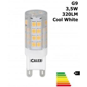Calex - LED G9 240V 3,5W 320LM 4000K heldere lens Koudwit CA030 - G9 LED - CA030 www.NedRo.nl