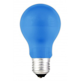 Calex, E27 1W Blue LED GLS-lamp A60 240V 12lm CA031, E27 LED, CA031, EtronixCenter.com