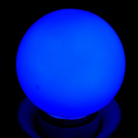 Calex - E27 1W Blue LED GLS-lamp A60 240V 12lm CA031 - E27 LED - CA031-C www.NedRo.ro