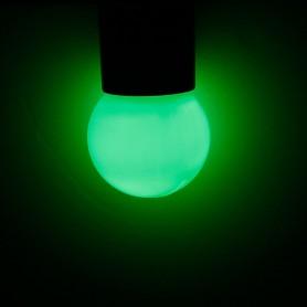 Calex - E27 1W Green LED GLS-lamp A60 240V 12lm CA032 - E27 LED - CA032-C www.NedRo.ro