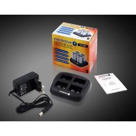 EverActive - EverActive 4x 9V Professionele Batterijen Lader NC-109 BL135 - Batterijladers - BL135-C www.NedRo.nl
