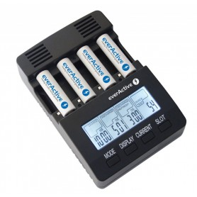 EverActive, EverActive Professionele Batterijen Lader NC-3000, Batterijladers, BL136, EtronixCenter.com