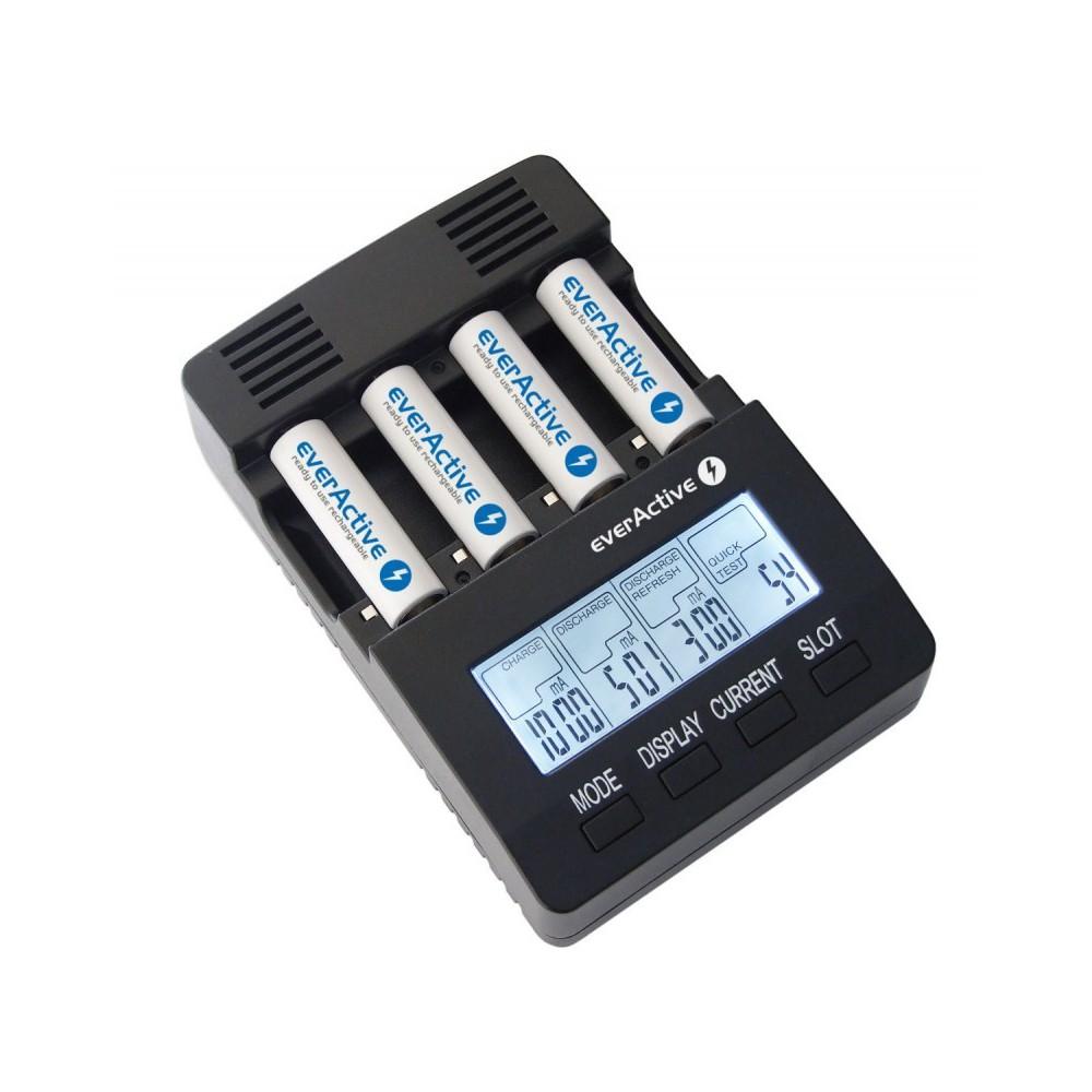 EverActive - EverActive Incarcator Profesional NC-3000 - Încărcătoare de baterii - BL136 www.NedRo.ro