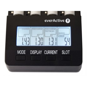 EverActive - EverActive Professionele Batterijen Lader NC-3000 - Batterijladers - BL136 www.NedRo.nl