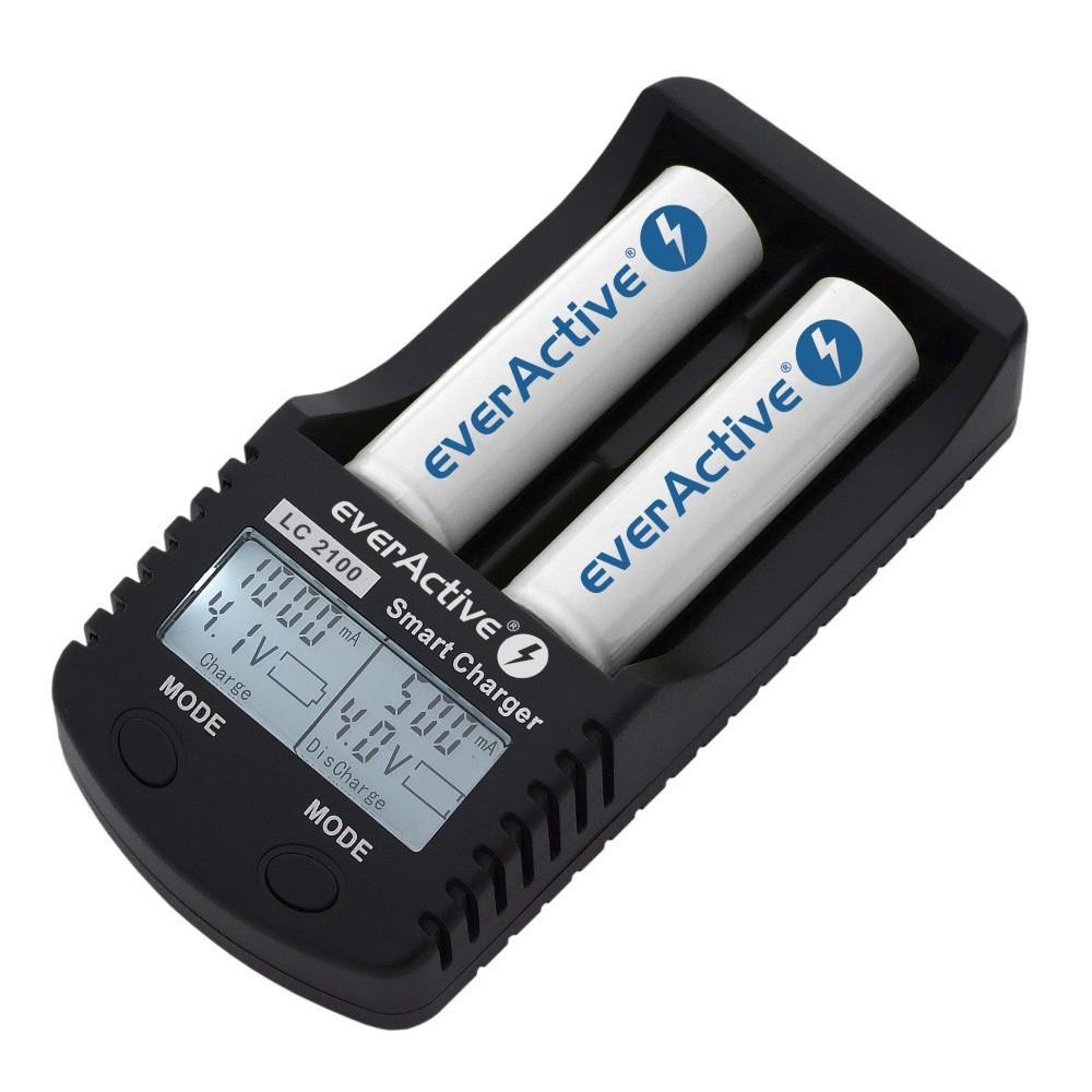 EverActive - Încărcător profesional EverActive LC-2100 - Încărcătoare de baterii - BL137 www.NedRo.ro