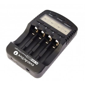 EverActive - EverActive NC-1000 PLUS Professional Charger (EU Plug) BL138 - Battery chargers - BL138-C www.NedRo.us